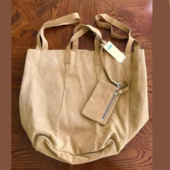 977f929f510f9 Lumi Bags | New Linda Large Leather Bubbles Tote Rare | Poshmark